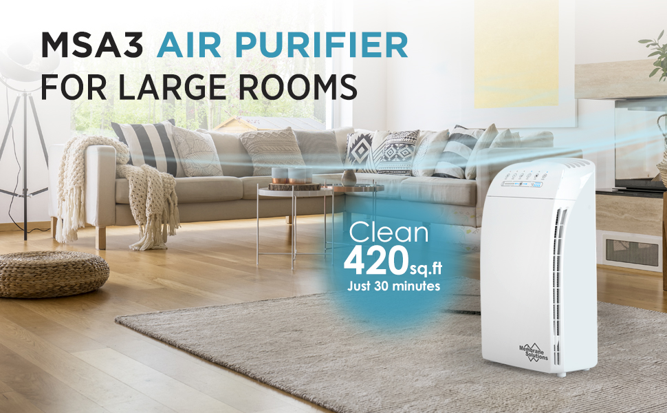 MSA3 Air Purifiers for Home Large Room
