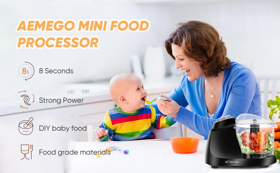 Aemego mini food processor