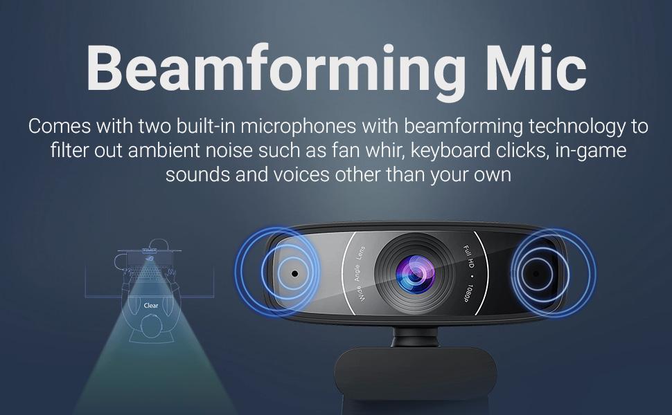 ASUS 1080P HD Webcam C3