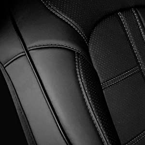 3D Seat Cover Antimicrobial Quality Close Up