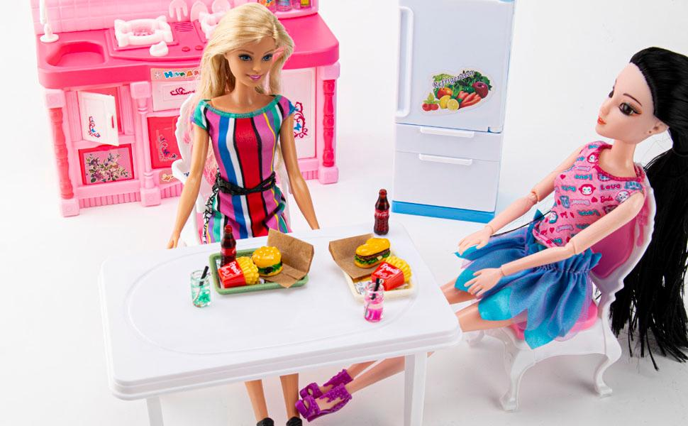Barbie Fast Food Set