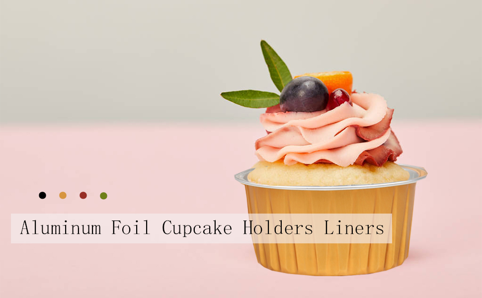 WMLBK Aluminum Cupcake Liners