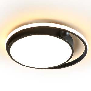 LED Bedroom Light Ceiling Light 56W 6400LM 15.74 inch Dimmable Remote Control Three-Color