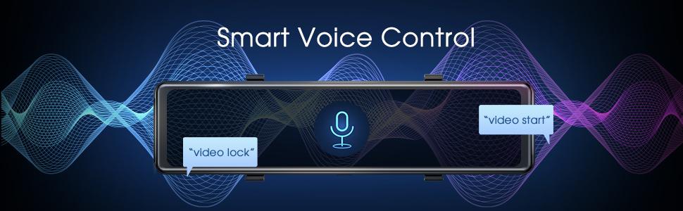 Voice control dash cam