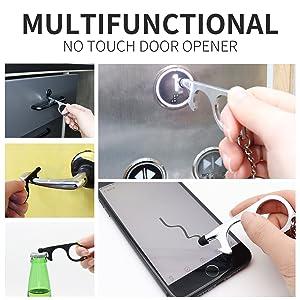 Non-contact door opener