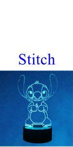 Veilleuse Lilo & Stitch 3D