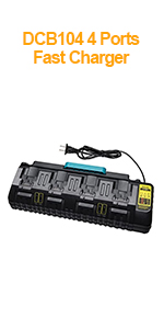dcb104 fast charger