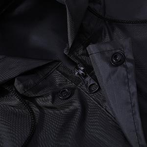 zipper and button