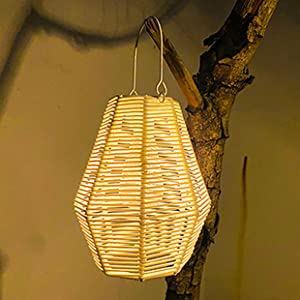 hanging solar lights lantern