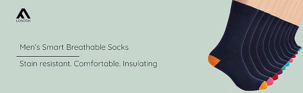 Mens Smart Breathable Socks