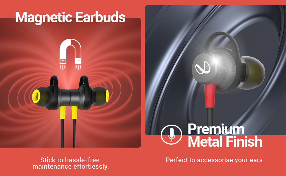 Infinity Glide 120 Magentic Earbuds