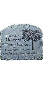 Rooted in Love Garden Marker