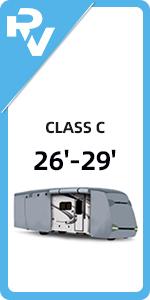 26'-29' Class C RV Cover