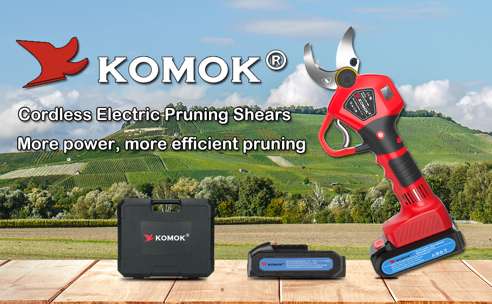 KOMOK ELECTRIC PRUNING SHEARS