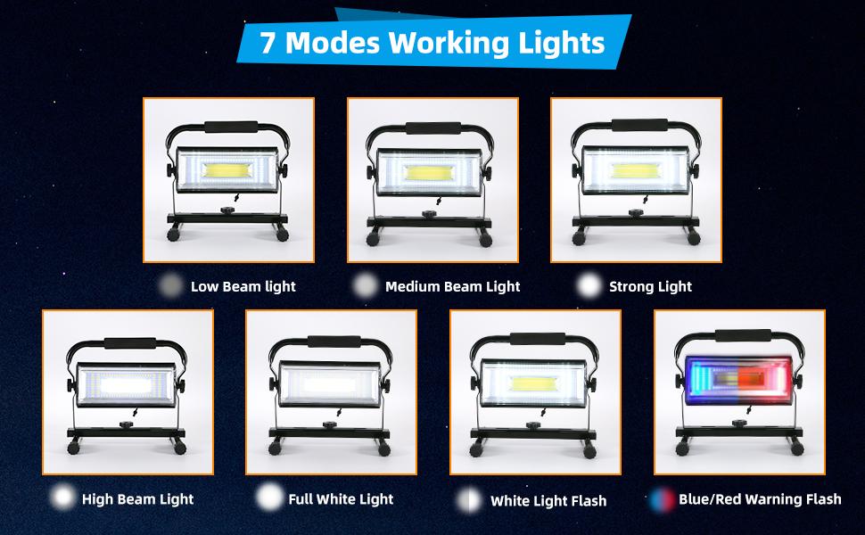 Multi-function lighting mode