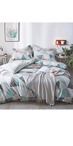 triangle duvet cover sets