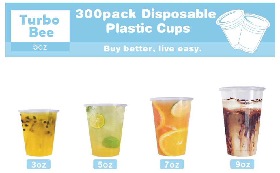 5oz plastic cupa