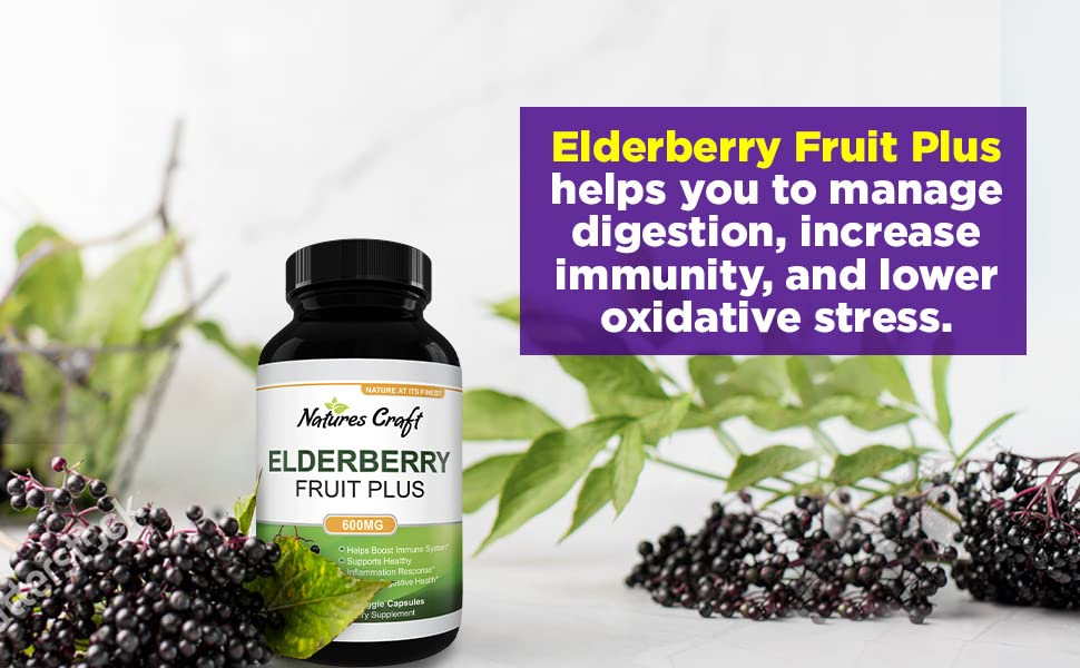 Elderberry Fruit Plus