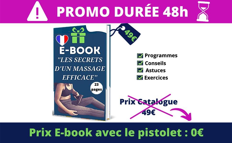 Pistolet de massage, Le vibrateur de massage musculaire, Masseur de pied, massage au pistolet,