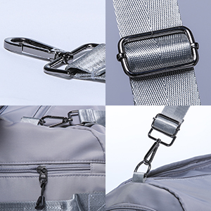 Stainless steel chrome-plated zipper and hook