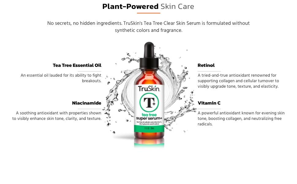 Tea Tree Super Serum Ingredients
