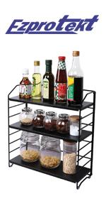 Adjustable spice rack
