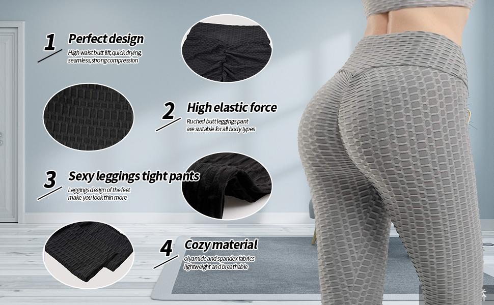 high waist butt lift,quick drying,seamless,strong compression