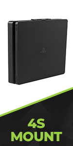 HIDEit PlayStation 4 Slim Wall Mount designed for the PS4 Slim console