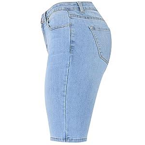 Bermuda shorts,denim bermuda shorts,jean shorts women,denim shorts