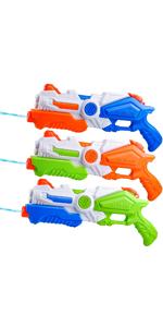 3 Pack Water Guns