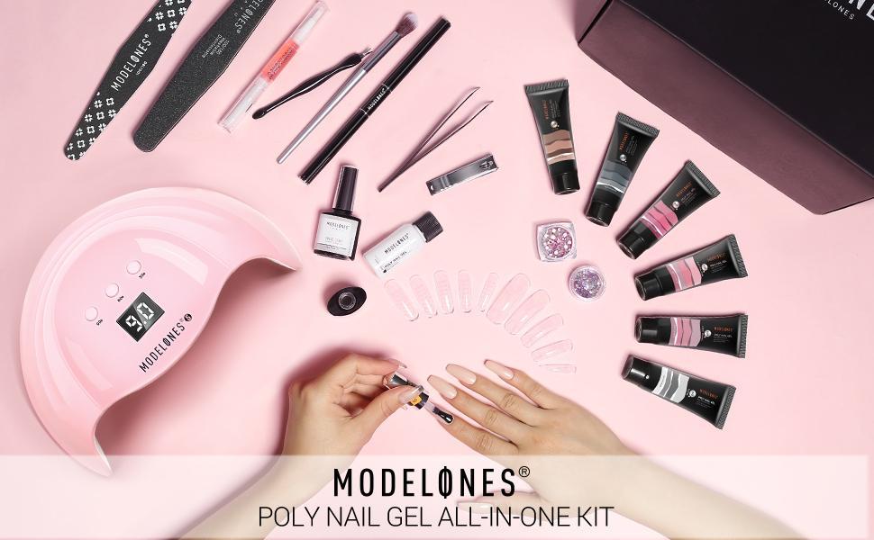 poly extension gel nail kit