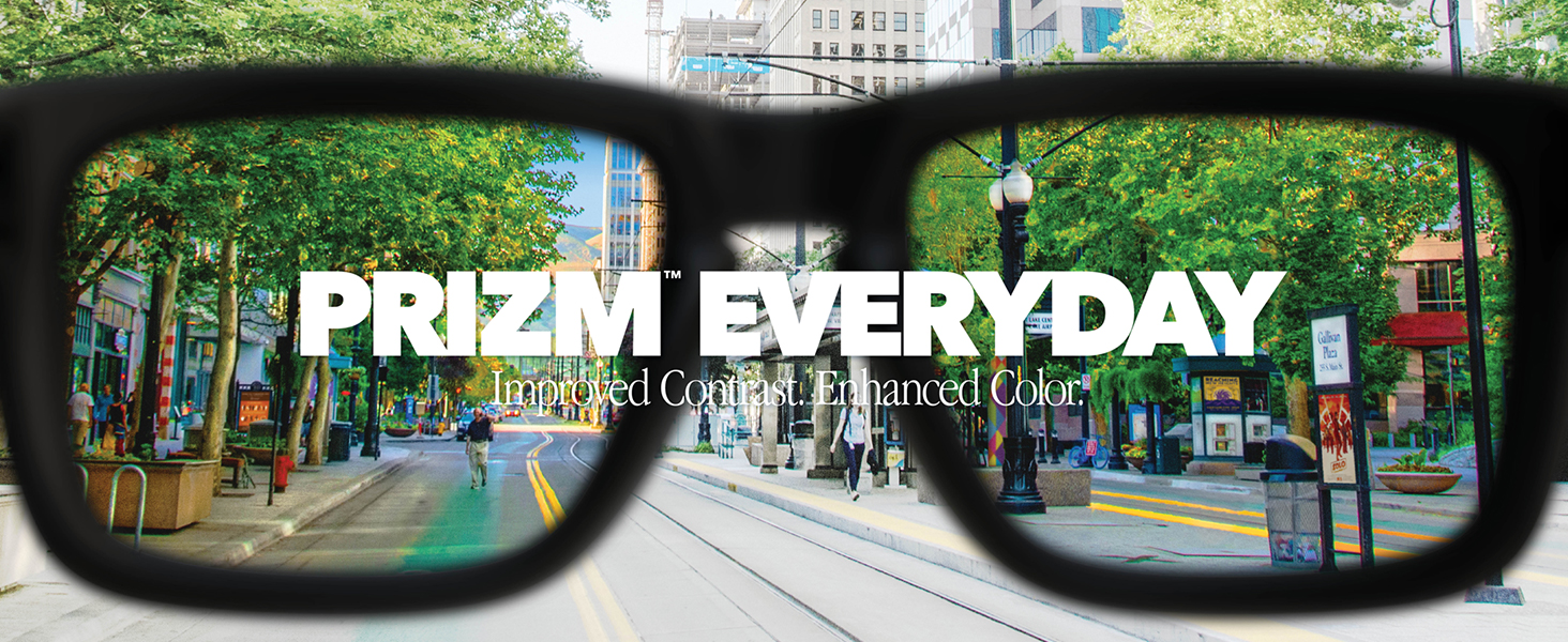 Prizm Everyday: Improved Contrast. Enhanced Color.