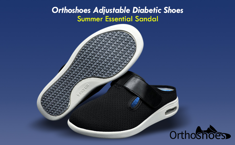 Orthoshoes Adjustable Diabetic Shoes
