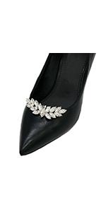 Rhinestone shoe decorations