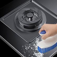 scrub brush cleaner for cleaning dishes stubborn stain oily Flexible Shower Sink Carpet Floor