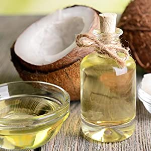 coconut hair growth smooth strength damaged silky soft thick fall loss