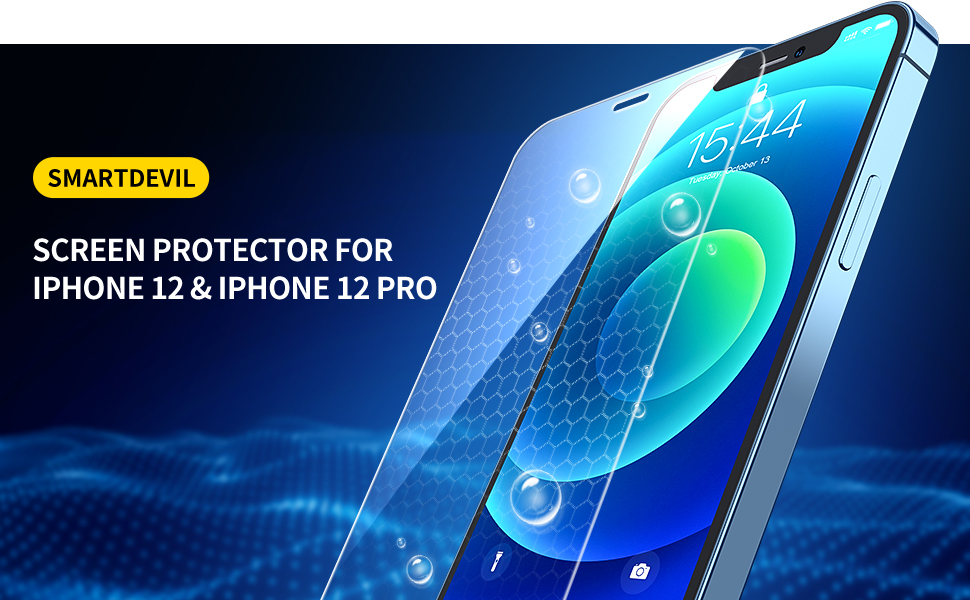 SmartDevil Amazing Full Screen Coverage Tempered Glass for iPhone 11 11 Pro 11 Pro Max 2