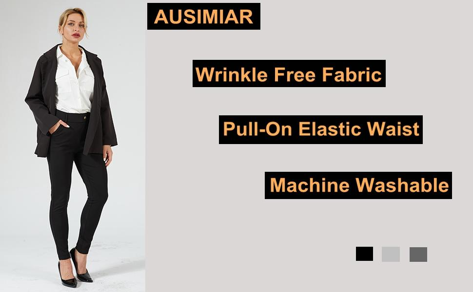 dress pants for women work or casual
