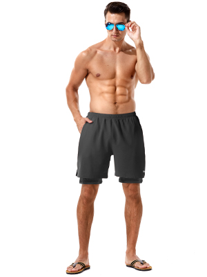mens workout shorts 7 inch