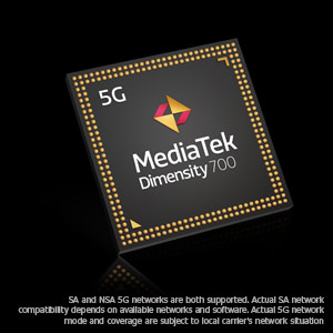 Ultra-Fast 5G Dual SIM Dual Standby, Immense Speed