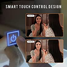 Touch Switches LED Mirror