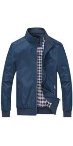 Mens lightweight bomber jacket