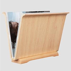 maple magazine rack