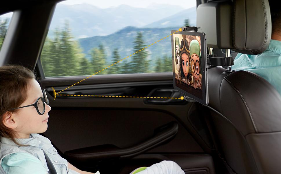 ipad car mount for headrest