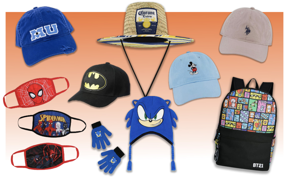 Concept One Accessories face masks beanie women men children batman sonic mickey mouse disney pixar