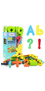 Alphabet Magnets ABC Magnetic Letters and Numbers