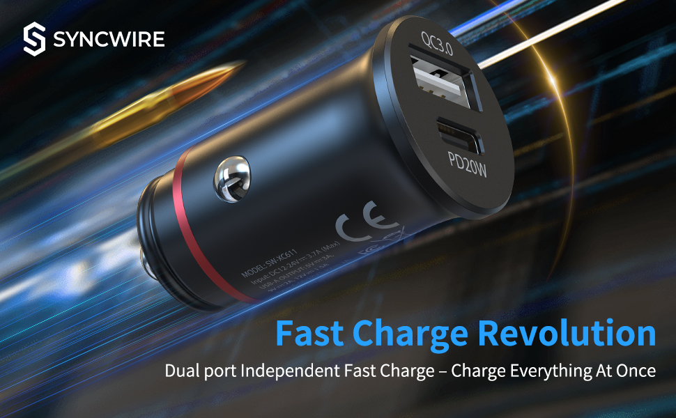 usb c car charger