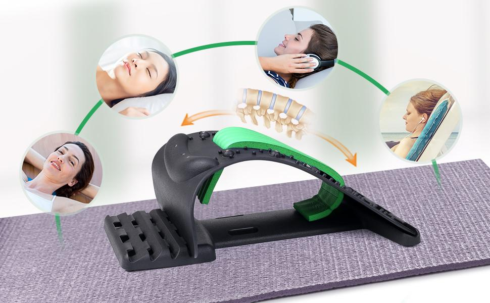 Neck Back Stretcher for Neck Pain Relief - Enjoy Your Relaxing Time!