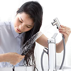 Single Handle Basin Mixer Tap for Hot and Cold Water