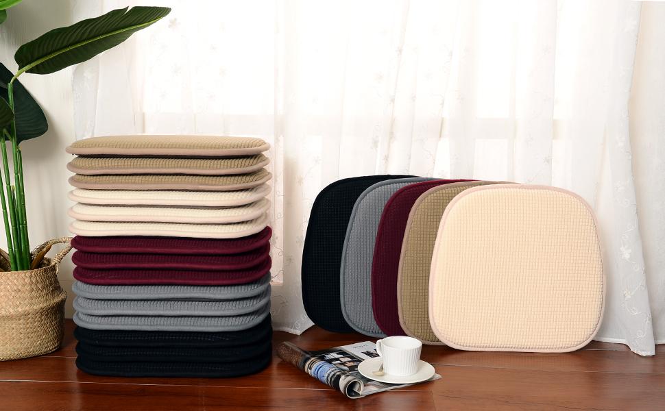 dining chair cushions set of 4 chair pillows seat cushions